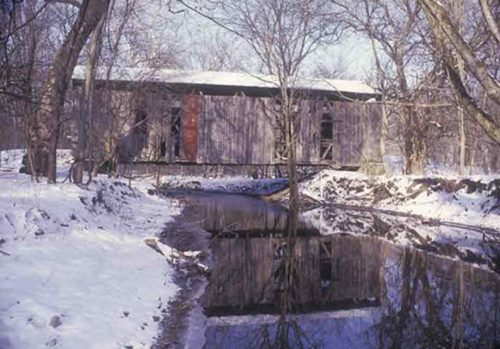 Cemetery Road Covered Bridge