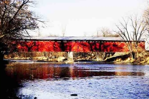 Eldean Road Covered Bridge