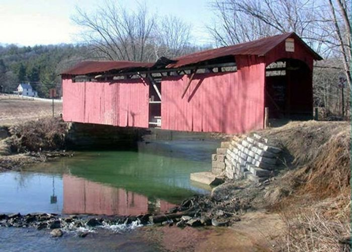 Girl Scout Camp Covered Bridge