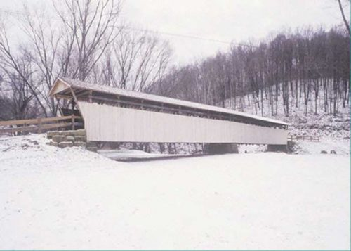 Helmick Road Covered Bridge