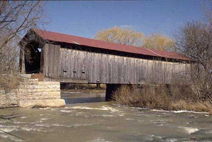 Mull Road Covered Bridge